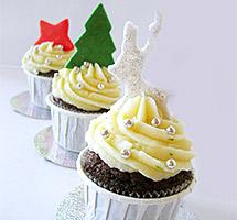 Συνταγές για υπέροχα χριστουγεννιάτικα cupcakes (6)