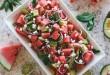 Χωριάτικη σαλάτα με καρπούζι
